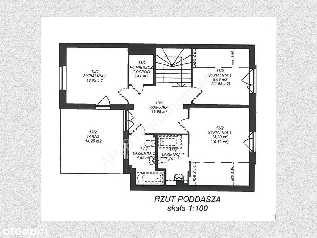 Mieszkanie, 123 m², Łomianki