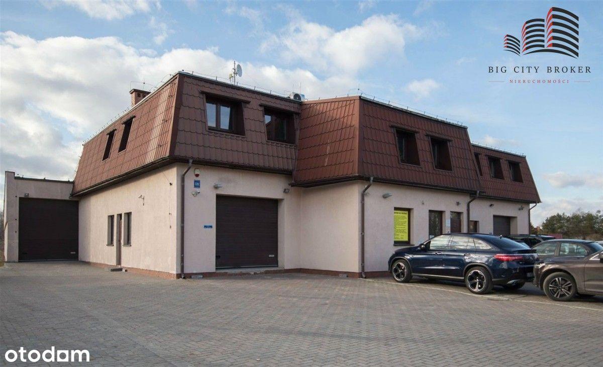 Budynek biurowo-magazynowy w Konopnicy