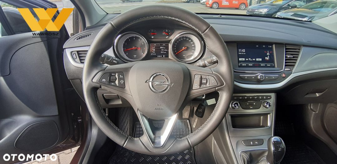 Opel Astra Enjoy 1.4 Turbo 125KM Krajowy F VAT23% Od dealera! - 19