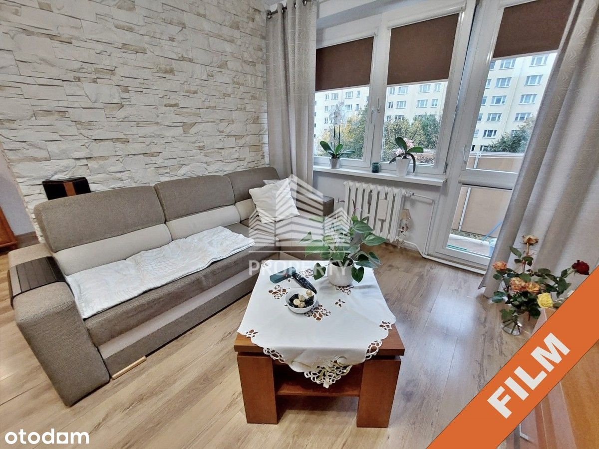 Komfortowe mieszkanie Niski Blok Balkon Film!