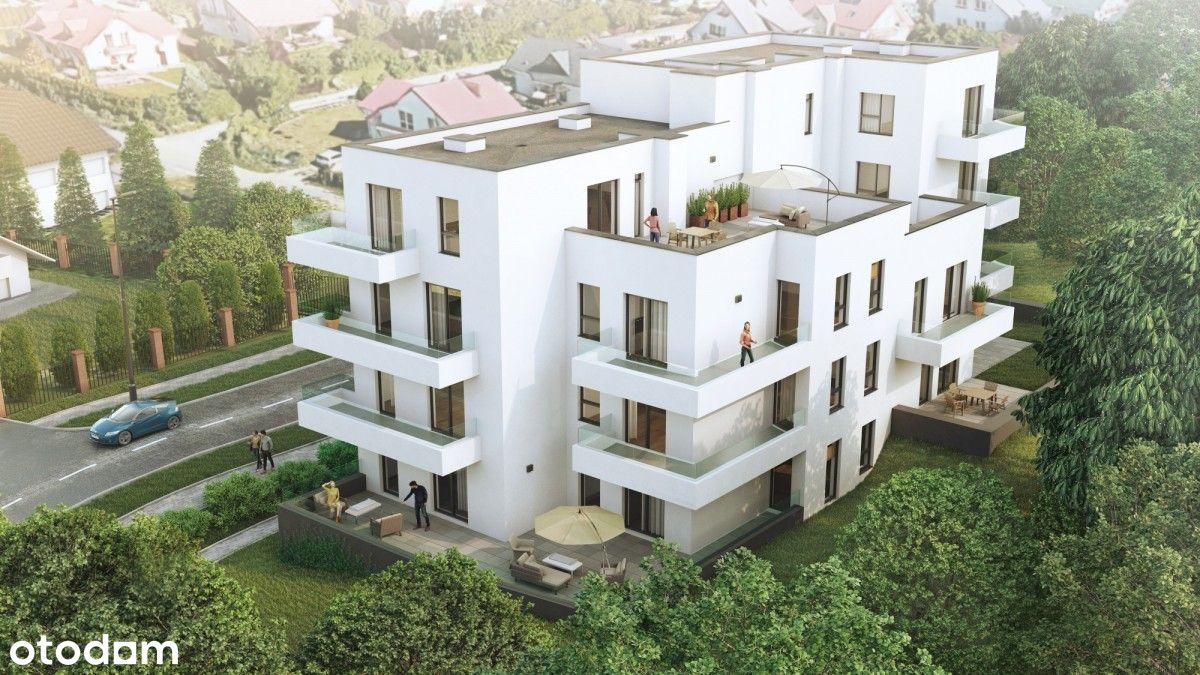 Mieszkanie 3 pokojowe z tarasem na Ponikwodzie