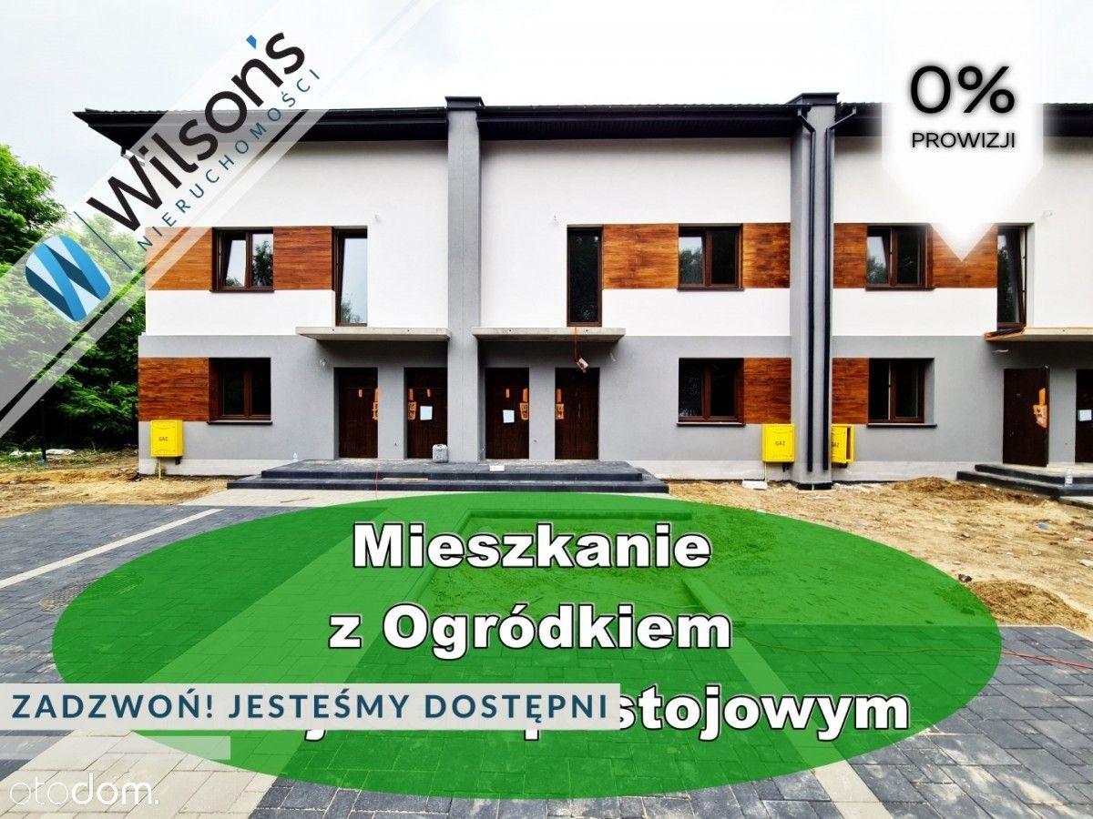 3 pokoje 70 m2, duży salon, ogród 30 m2