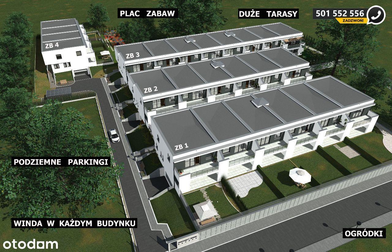 Apartamenty, Wysoki standard, winda, Taras 18m2