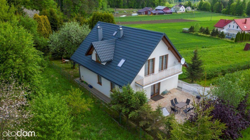 Nowy dom, wyposażony,30ar działki,podłogówka,sauna
