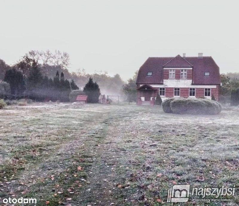 Dom z dużym terenem i sadem 6km od Kołobrzegu!