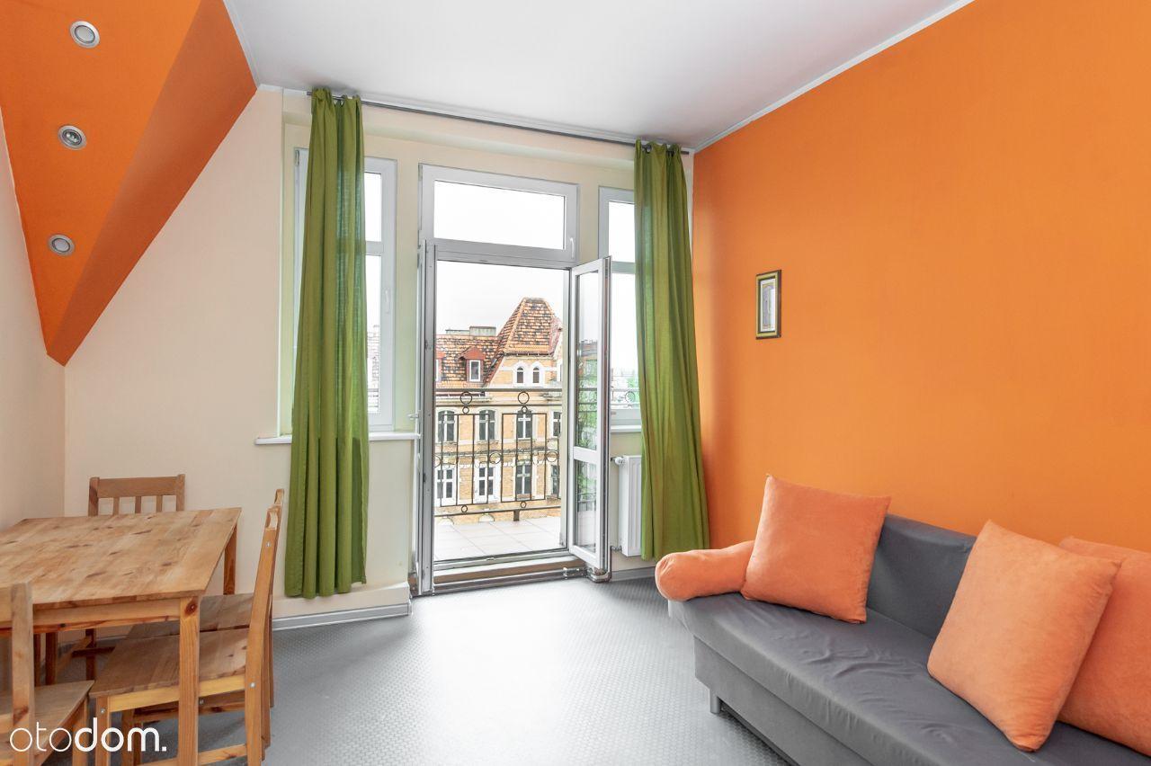 Duże, 3 pokojowe mieszkanie z balkonem, Łazarz