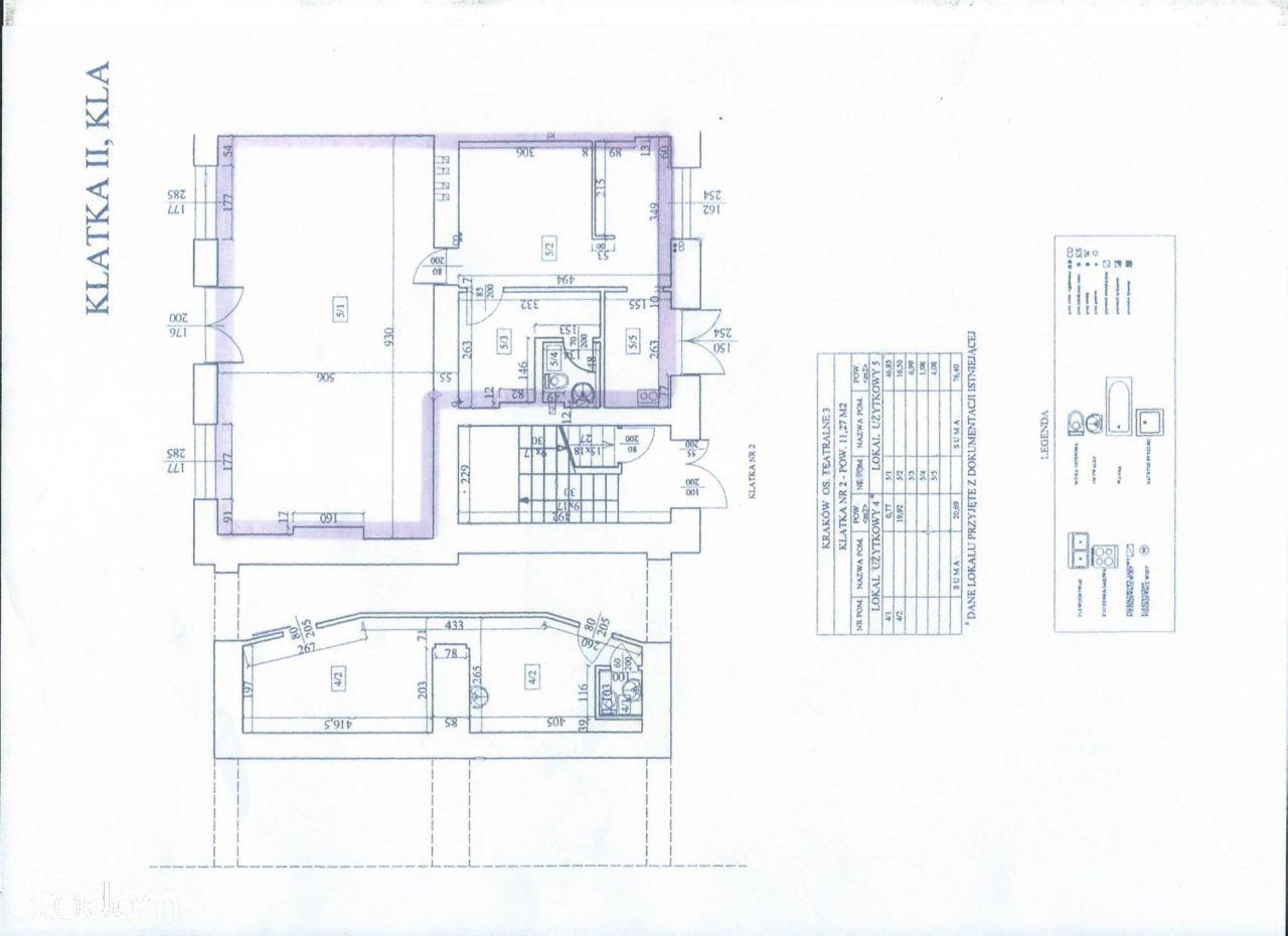 Lokal biurowo-usługowy   Nowa Huta   76M2   Eng