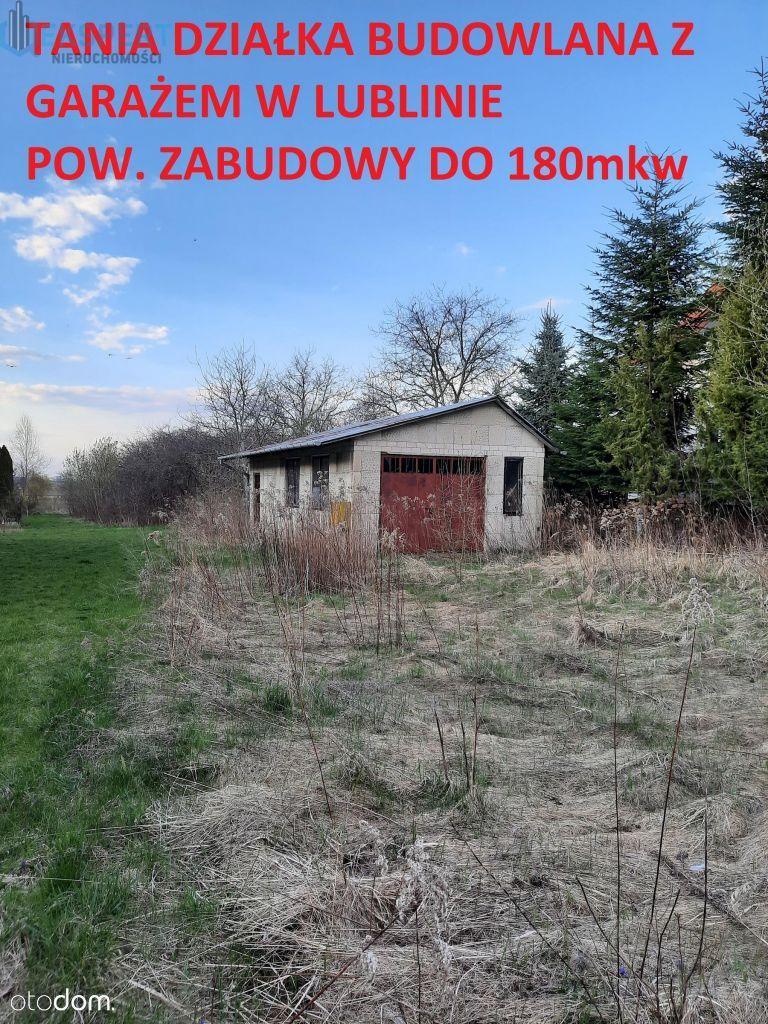 Ładna działka budowlana z garażem Lublin