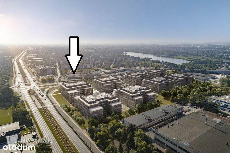 Kawalerka/Płaszów-Zabłocie/Tramwaj/1 piętro/bezPCC