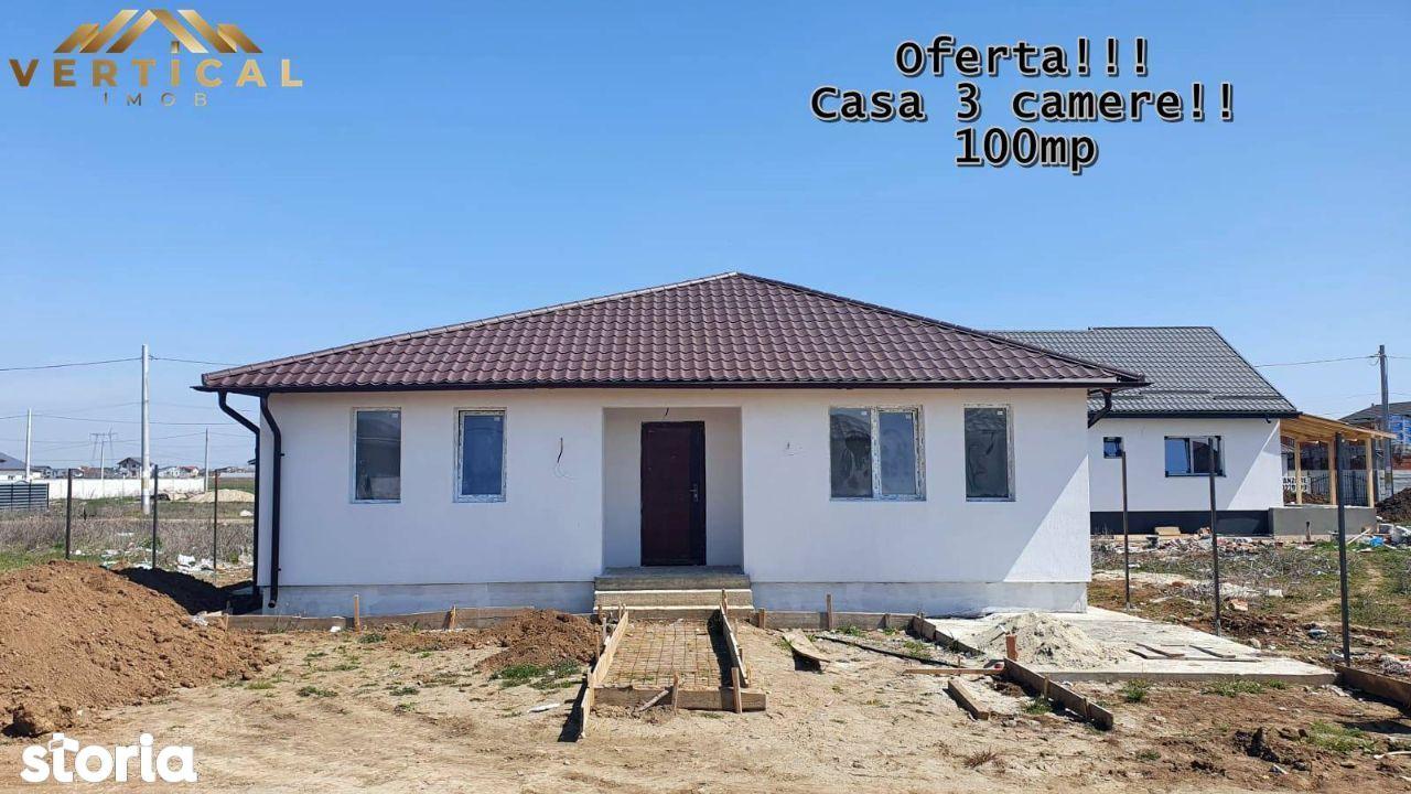 Casa pret apartament!! 3 camere- teren 255mp-Vidra-Comuna Berceni
