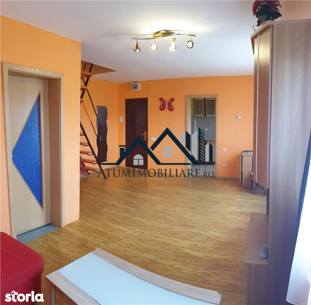 Apartament cu 2 camere tip mansarda de vanzare in Sibiu- ID 190