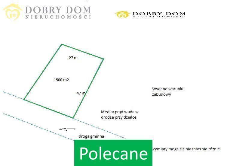 Działka, 1 500 m², Bielsk Podlaski