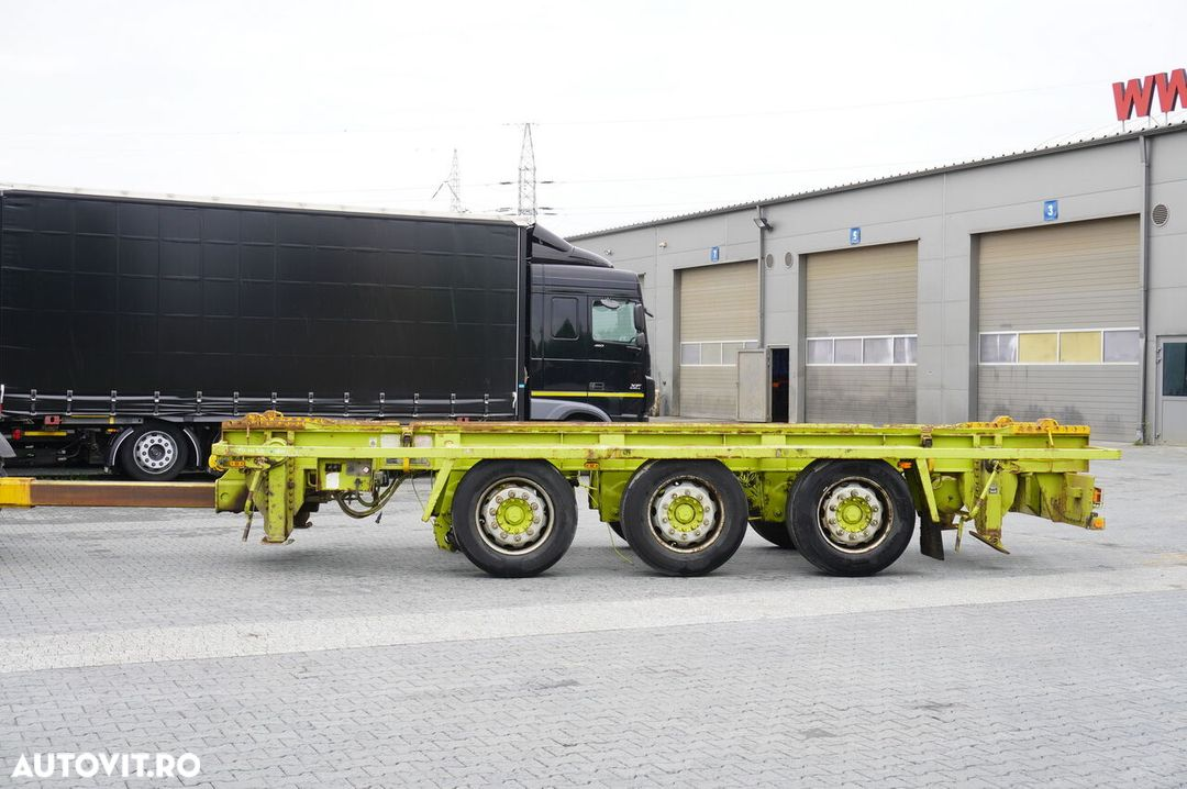 Krone Truckmate 3 axles , Roll-of tipper , 7m - 2