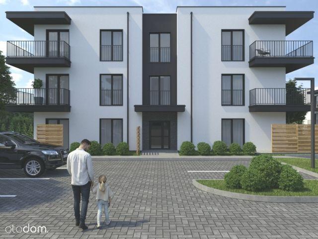 Nowe mieszkanie 33 m2, z dużym balkonem, I piętro