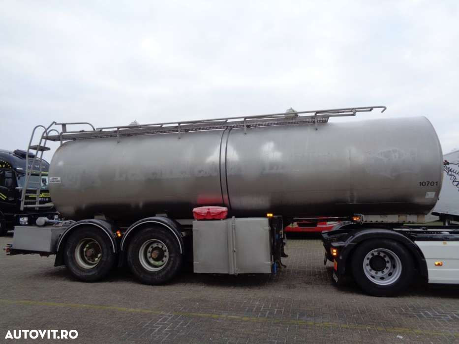 Trailor Milk/Water tank 2 COMP + 2 AXLE + ADR+25000liter - 7