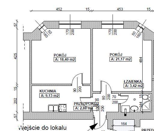 Lokal Użytkowy 57m2 , kancelaria Kołłątaja
