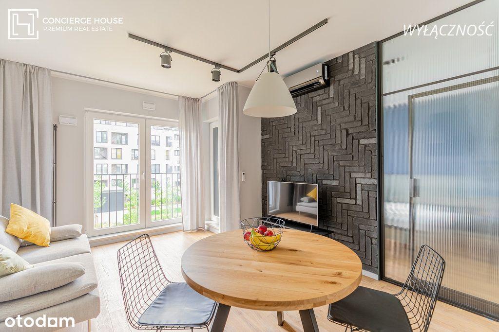 Nowy 2 pokojowy apartament - wysoki standard