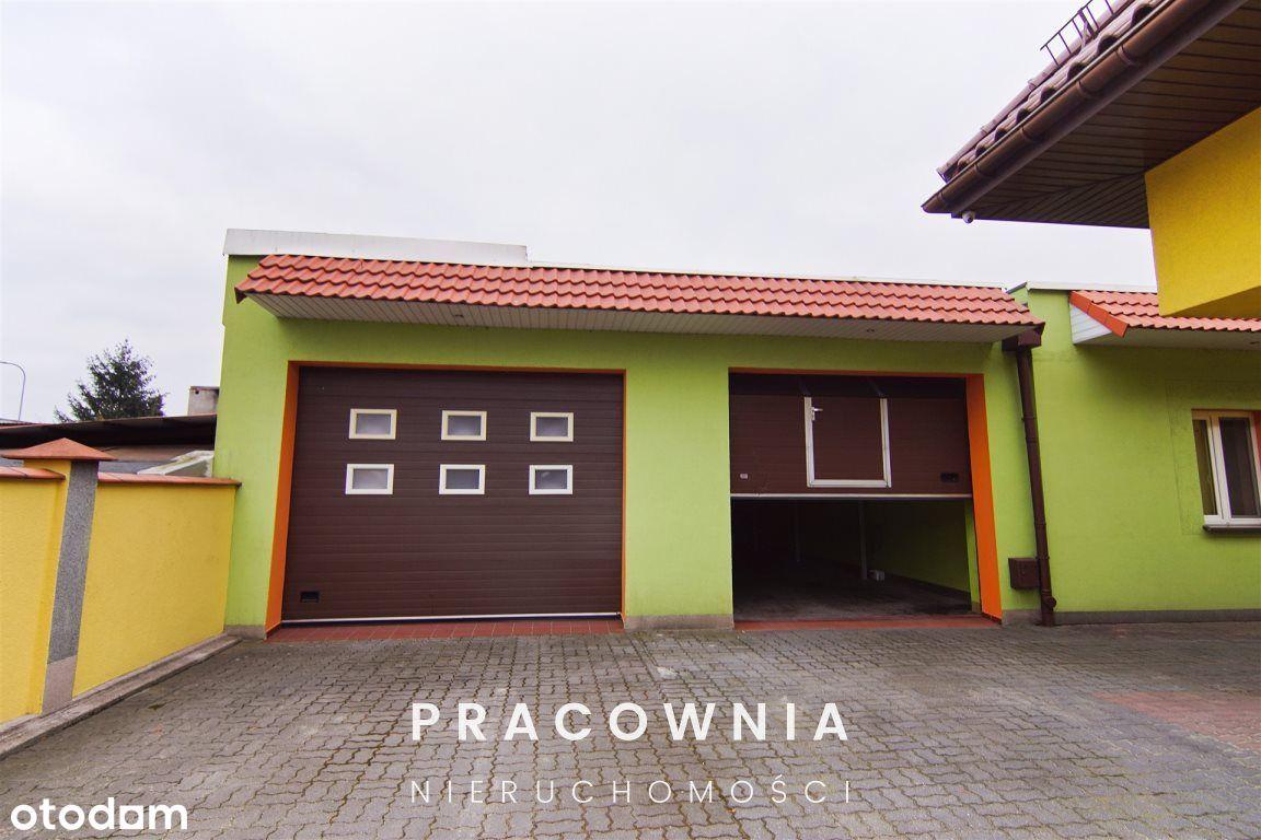 Budynek pod działalność gospodarczą z domem.