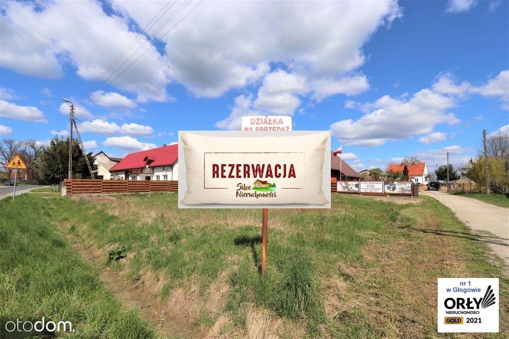 Bogdaszowice Działka budowlana (usługowa)