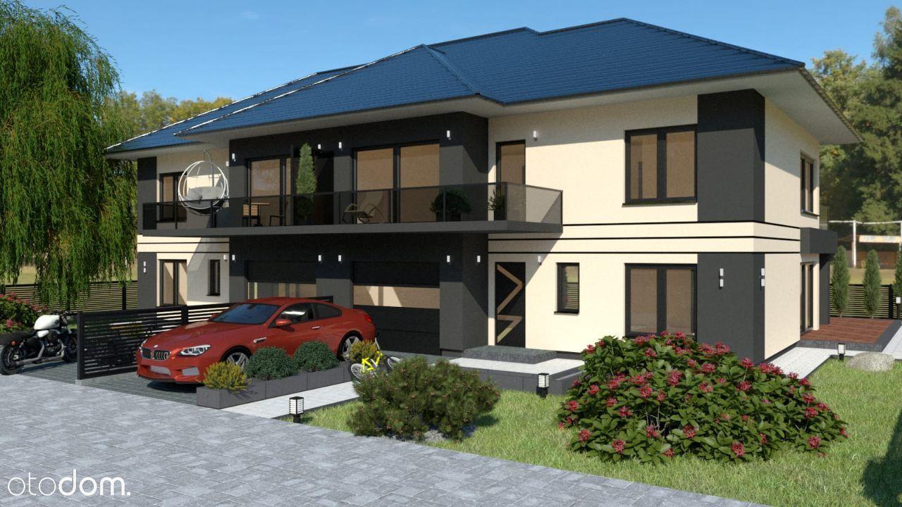 nowy dom Wojkowice, połowa bliźniaka