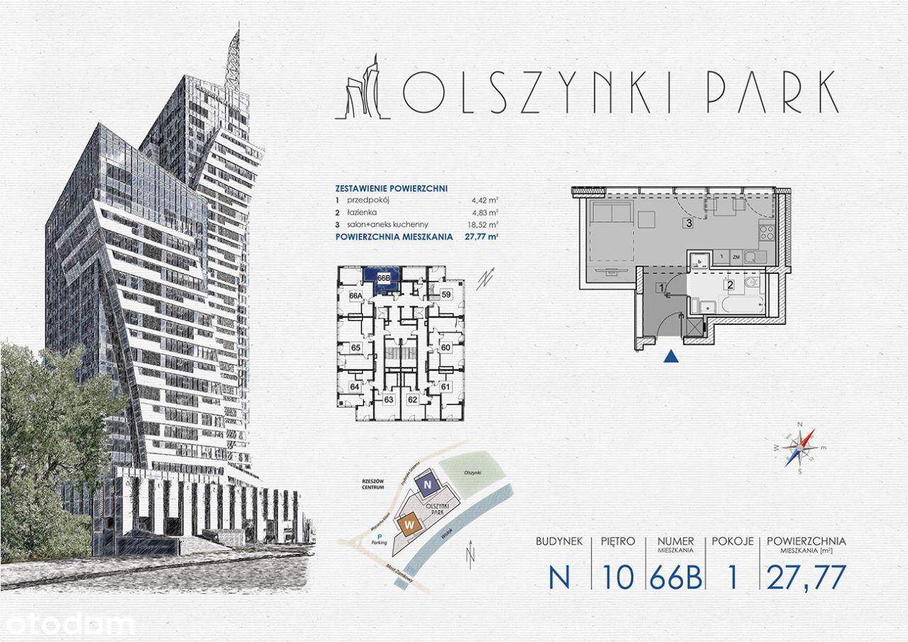 Olszynki Park - Apartament N66B