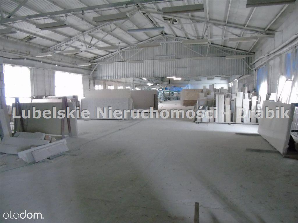Hala murowanana sprzedaż 1182m2- Lublin