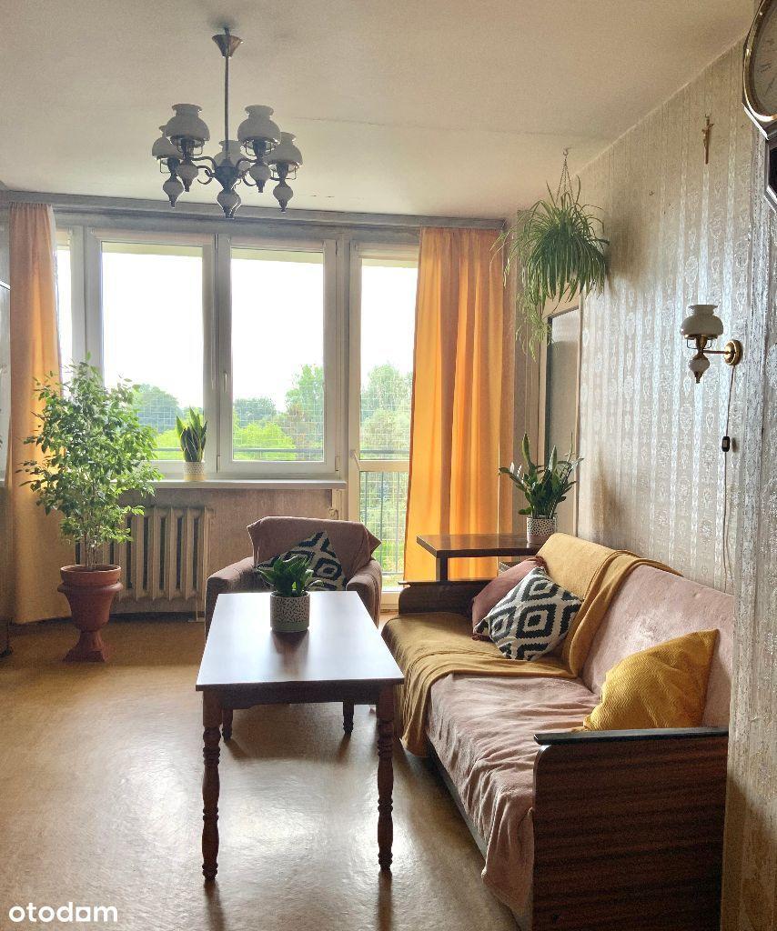 Mieszkanie 3 pok, 64m2 z widokiem na ogródk