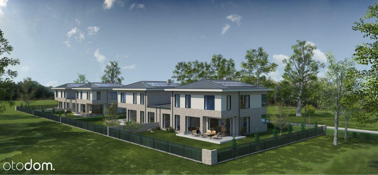 Nowoczesny dom bliźniak 200m2 Kamionka Piaseczno