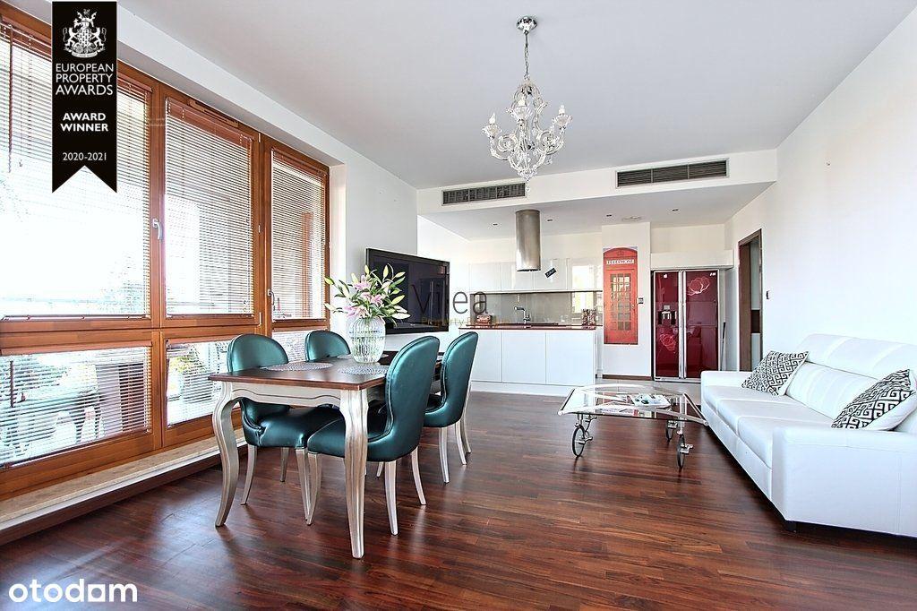 Wysoki 3-pok apartament, Wilanów One, klimatyzacja