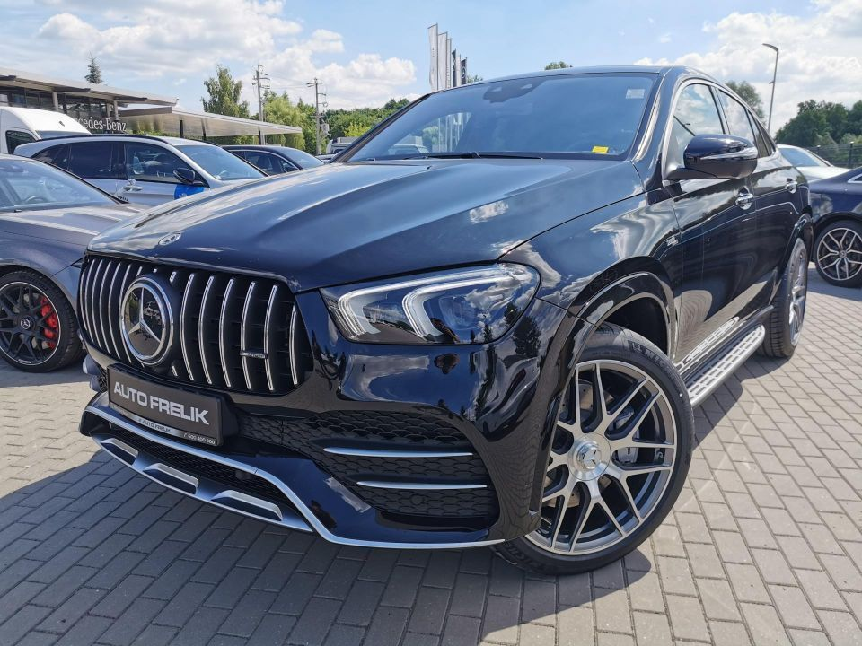GLE 53 AMG Coupe 4Matic +, Wersja Ultimate, Hak, Head Up