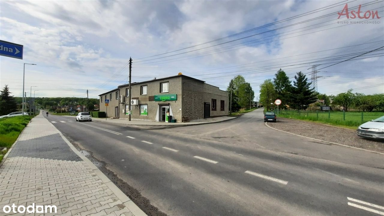 Lokal przy głównej drodze w budynku wolnostojącym
