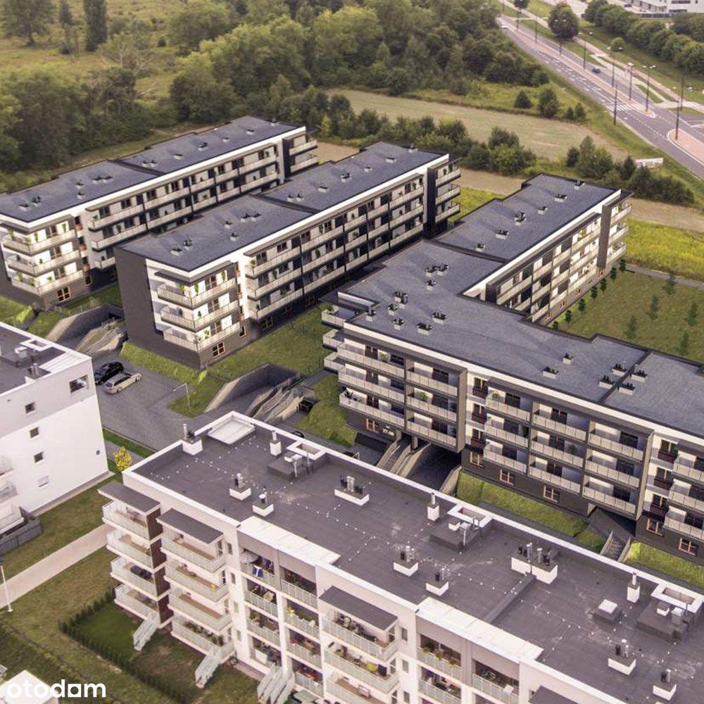 3-pokoje mieszkanie z DUŻYM BALKONEM, FELIN