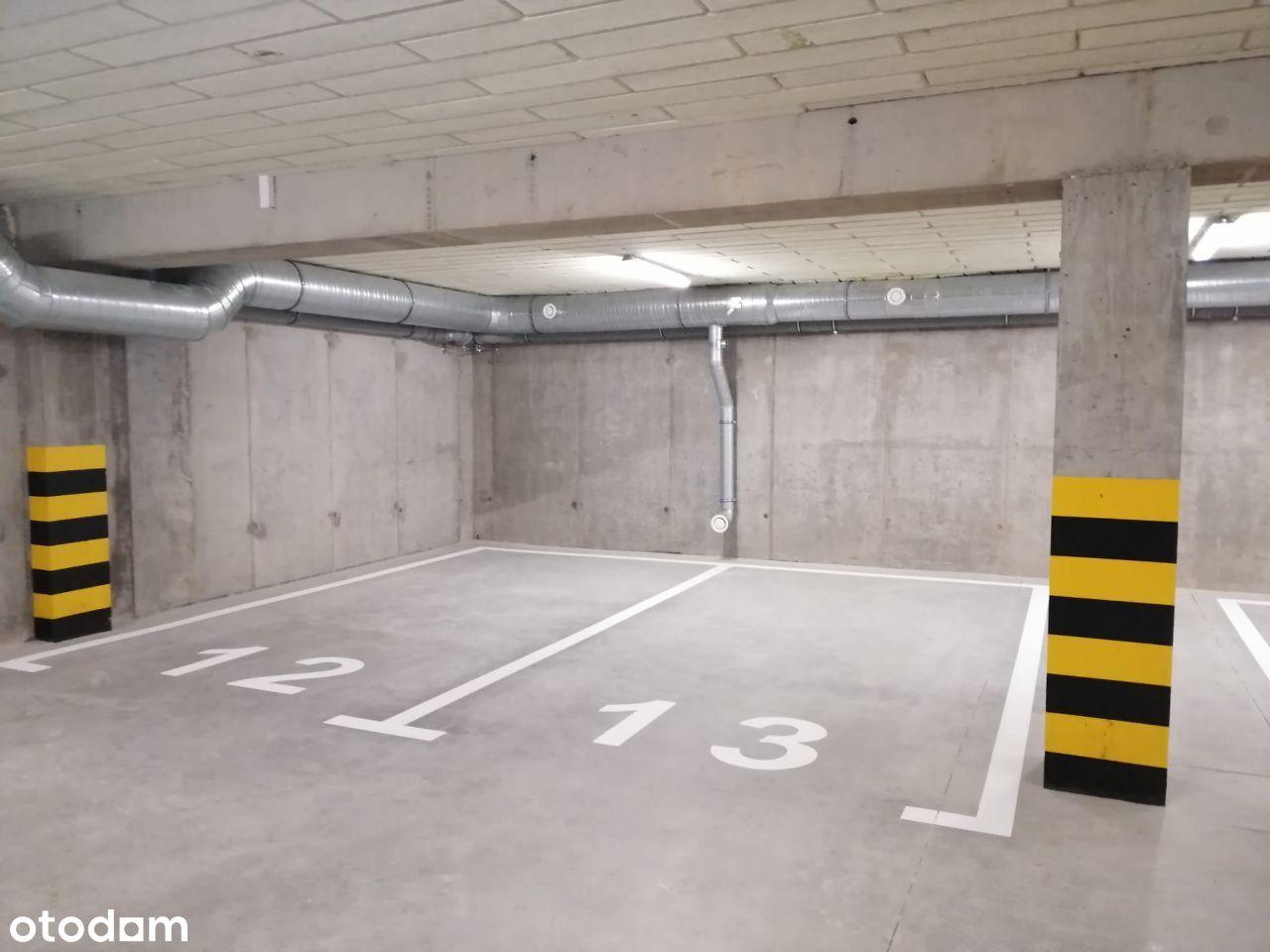 Do wynajęcia miejsce postojowe w garażu podziemnym