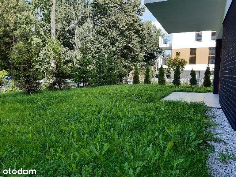 Apartament pokazowy z ogrodem