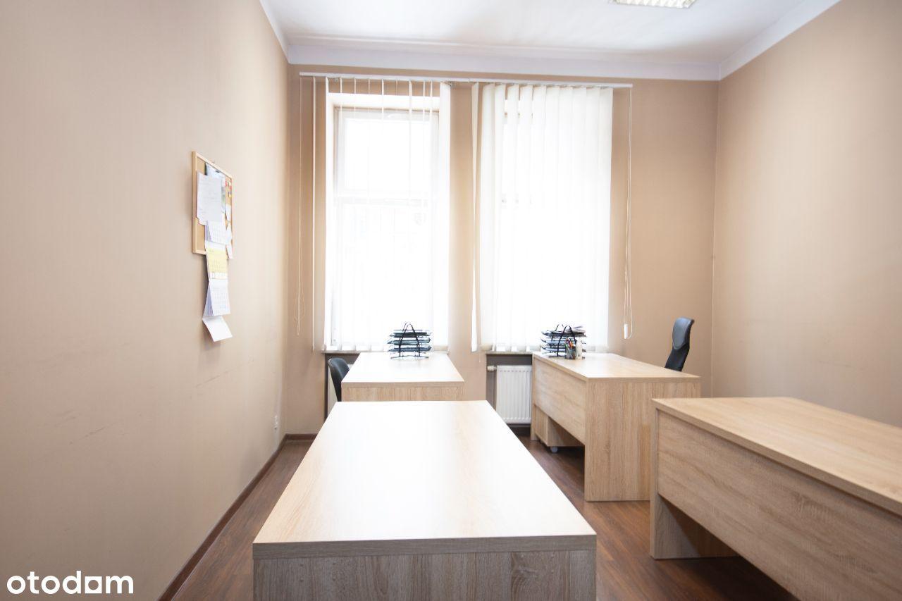 4 pokoje biurowe + zaplecze socjalne ul. Dietla