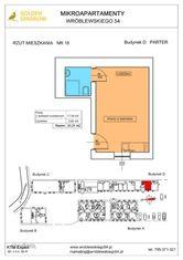 Mieszkanie nr 18 (Budynek D) SPRZEDANE