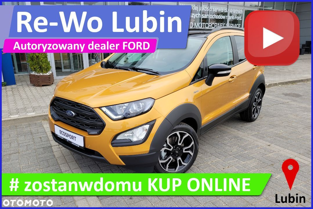 Ford EcoSport Active, 1.0 EcoBoost mHEV 125 KM M6 ( z ASS ) FWD - 17