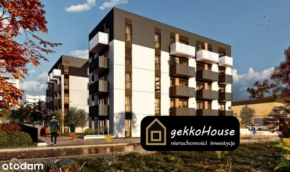gekkoHouse - Mieszkanie Z Ogródkiem 40 m2