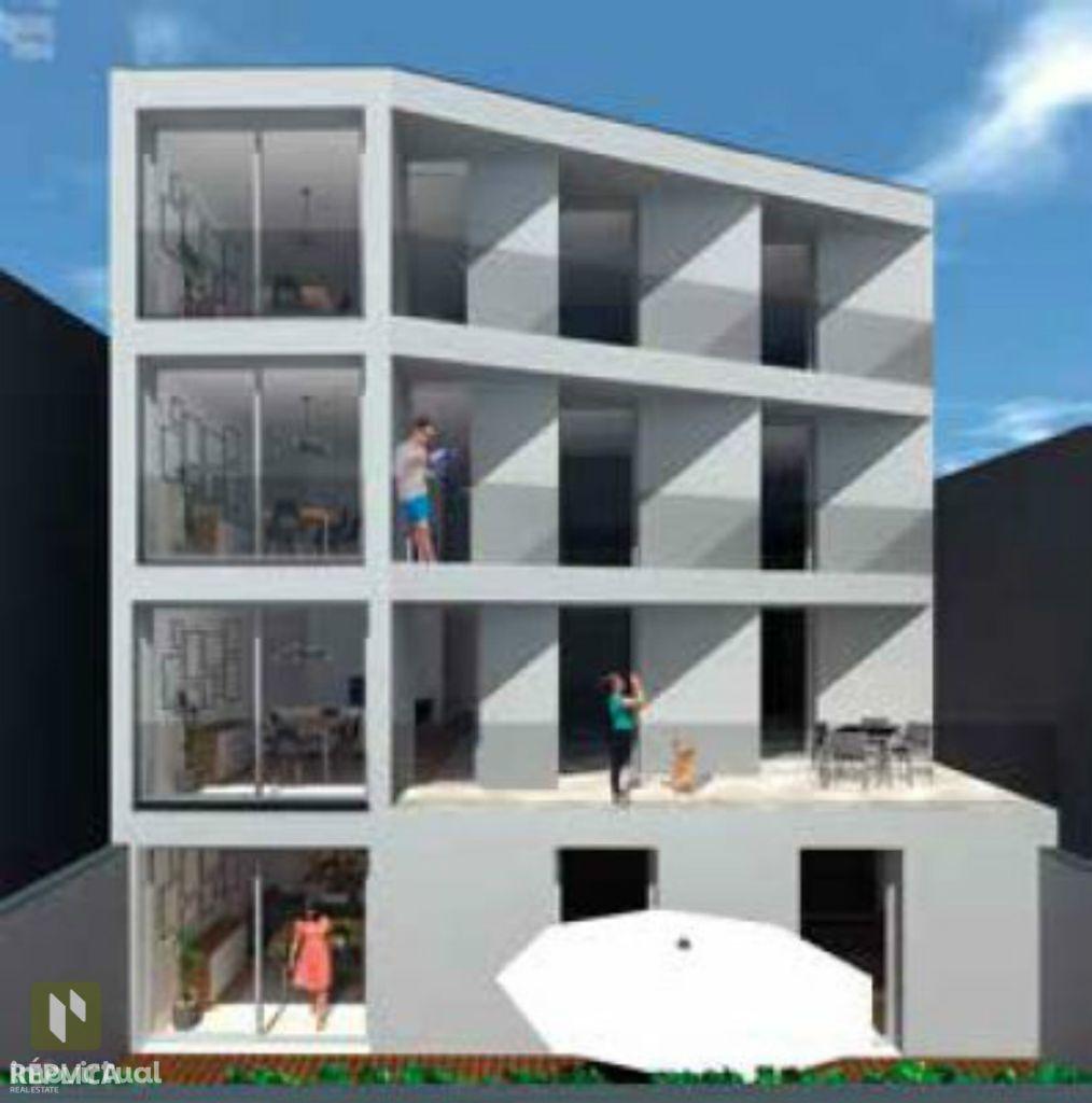 Apartamento T2 no centro histórico de Leça da Palmeira