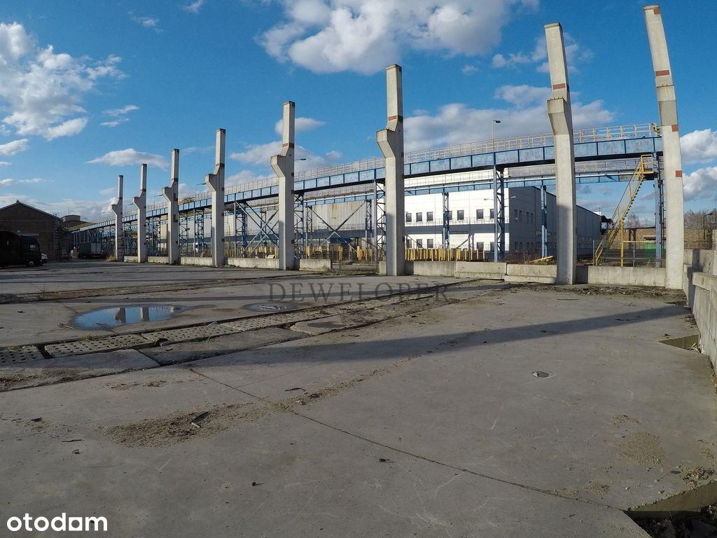 Plac przemysłowy 970m2 Katowice Porcelanowa