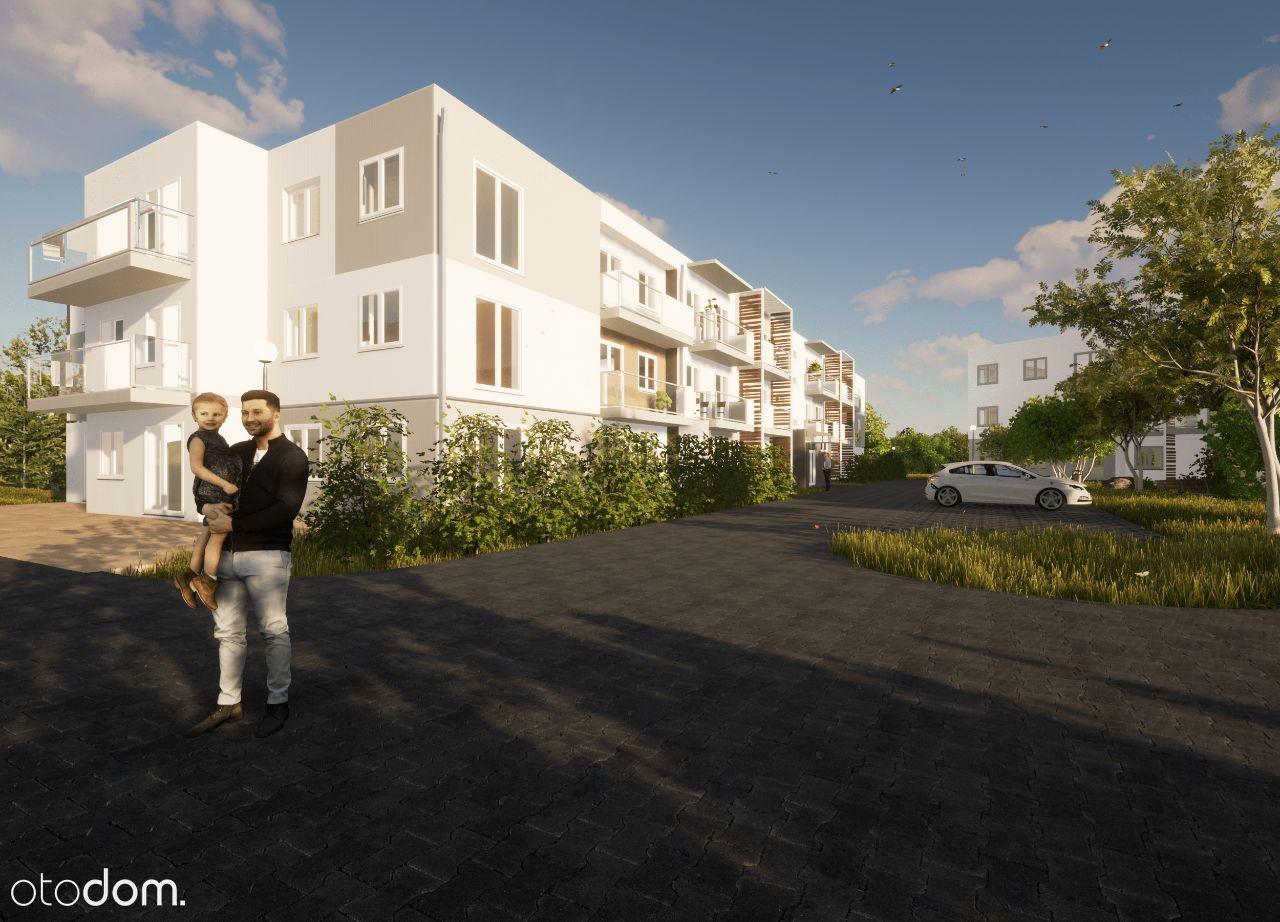 Mieszkanie 47,31 m2 z balkonem