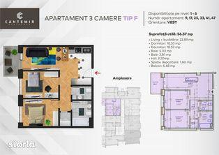 Apartament 3 camere semicentral, Cluj-Napoca