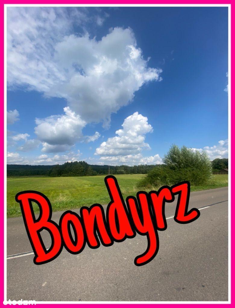 Działki w Bondyrzu