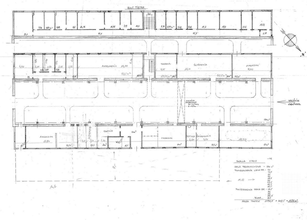 Działka, 1 460 m², Gliwice