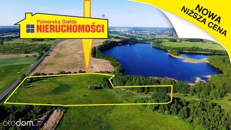 Działka siedliskowa z dostępem do jeziora Lipno.