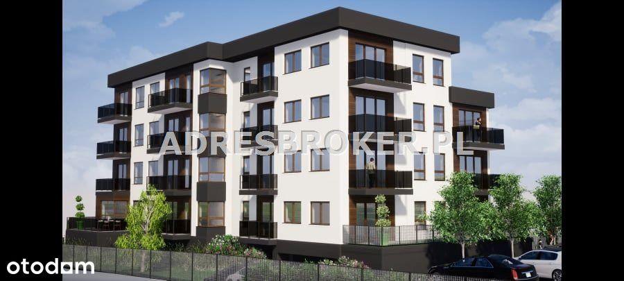 Mieszkanie, 57,38 m², Gliwice