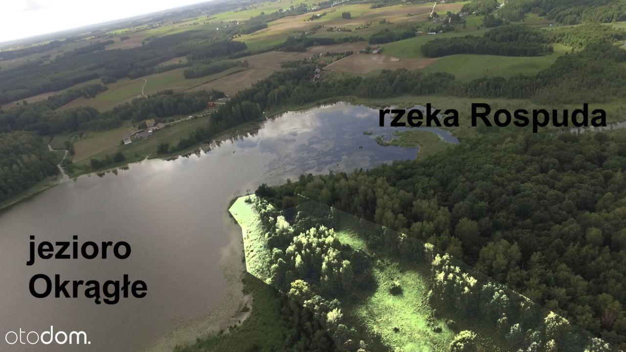 Suwalszczyzna linia brzegowa jeziora WZ prąd woda