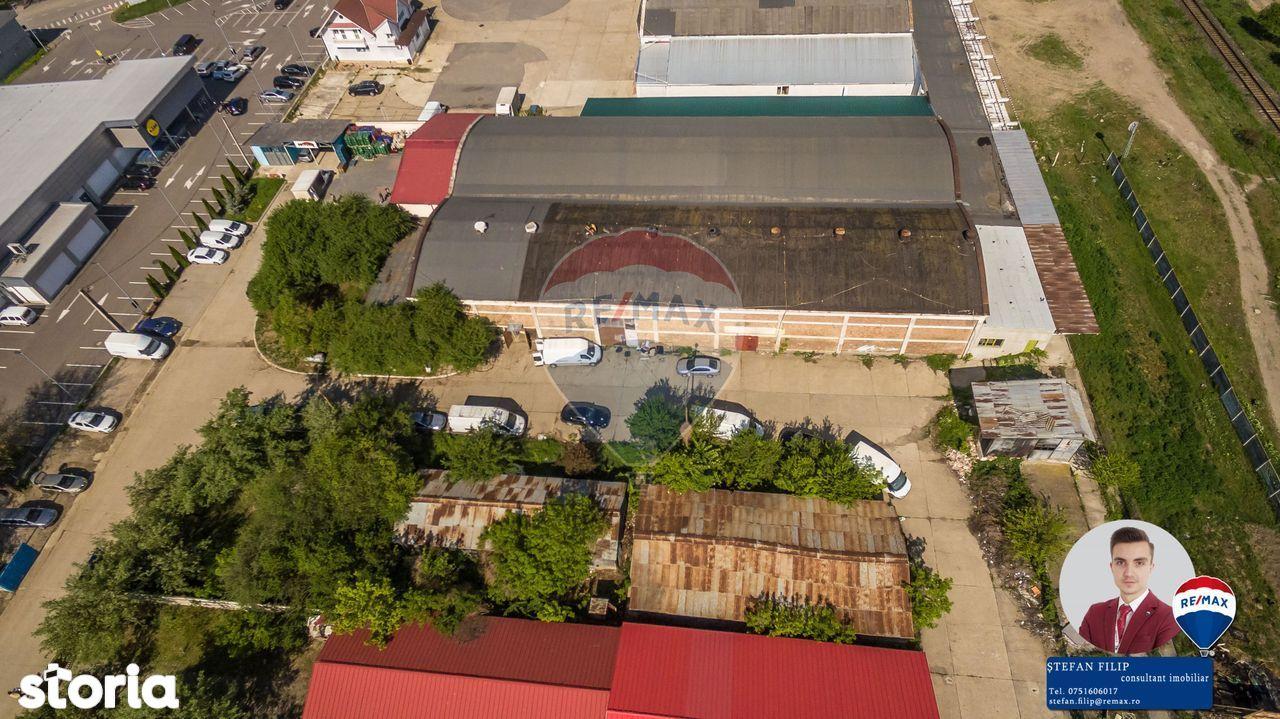 Spatiu industrial de vanzare 1.000 mp în Onești, zona gării