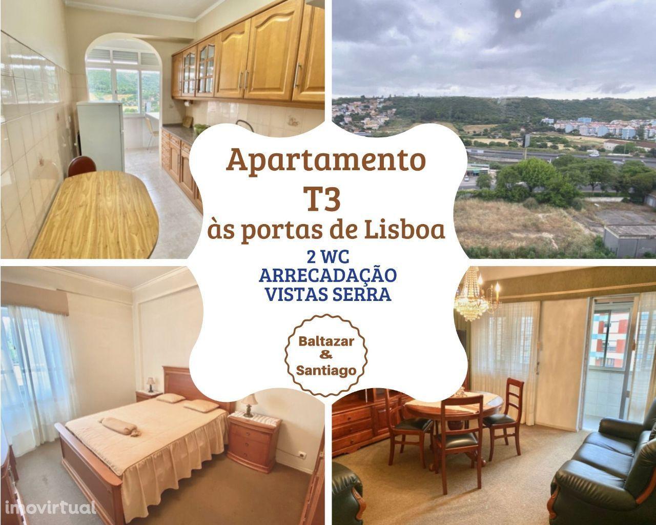 Apartamento T3 às portas de Lisboa