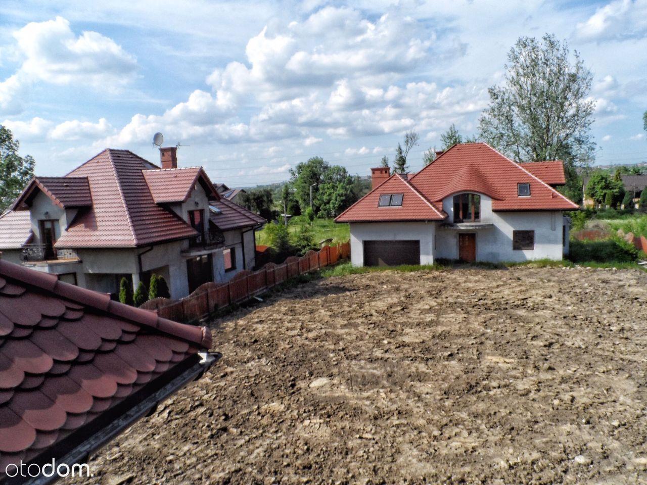 Kraków Sidzina duży dom do wykończenia